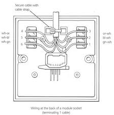telephone socket wiring diagram  bt phone socket wiring informed    telephone socket wiring diagram