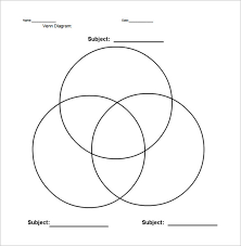 interactive venn diagram templates   free sample  example    interactive venn diagram  parts worksheets pdf format sample