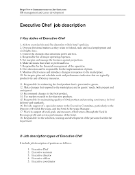 best photos of executive chef job description executive chef job executive chef job description sample