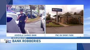 police arrest suspect in asheville savings pnc bank robberies wlos more video