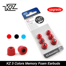 6 pcs 3 pair 4mm black lms ear pads cap silicone inserts tips earplug earpieces kidney tips for in ear headphones pads