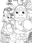 Игра раскраски для мальчиков лунтик