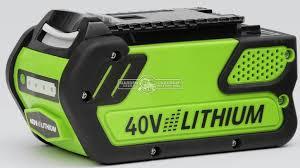 <b>Аккумулятор Monferme 40V</b> Li-Ion 4 Ач купить в интернет ...