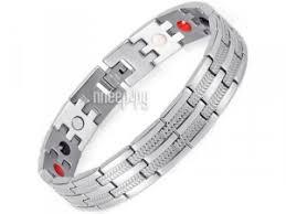 Купить <b>Магнитный браслет Luxor</b> Бизнес Стандарт 4 в 1 Silver ...