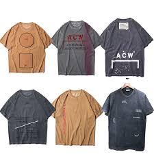 <b>A COLD WALL ACW T shirt</b> Wen Best Quality Top Tees Summer ...