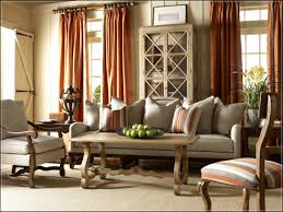 rustic style living room clever: clever orange patterns curtains also sofabed together with livingroom centerpiece in living room pictures