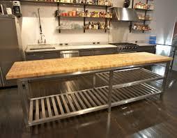 steel kitchen design island