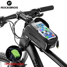 <b>ROCKBROS</b> Waterproof Bicycle Bag with Mobile Phone <b>Touch</b> ...
