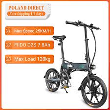 [EU Direct] <b>FIIDO</b> D2S/D2/D3 Shifting Version 36V 7.8Ah 250W 16 ...