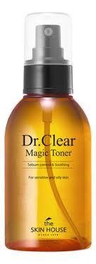 <b>Тонер против воспалений</b> Dr. Clear Magic Toner 130мл The Skin ...