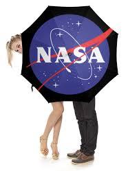 Зонт-трость с деревянной ручкой <b>NASA</b> | <b>НАСА</b> #2220823 ...