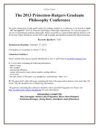 cfp rutgers princeton graduate philosophy conference  cfp rutgers princeton graduate philosophy conference 2013