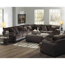 sectional living room chocolate media image barkley sectional living room set chocolate