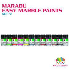 Marabu Easy <b>Marble</b> Set 2 — The <b>Glitter</b> Guy