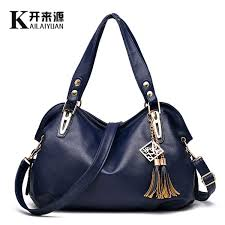 <b>KLY 100</b>% <b>Genuine Leather</b> Women Handbags 2018 New Bag ...