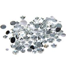 <b>1000pcs</b> 2 5mm And <b>Mixed Sizes</b> Crystal Resin Rhinestones Non ...