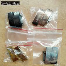 <b>SHELKEE Replacement Metal Buckle</b> lock Logo connector Parts ...