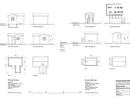 Pump House Plans   VAlineWell Pump House Building Plans