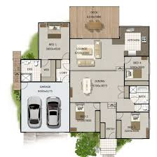 Bedroom Split Level House Plans  split level floor plans     Bedroom Split Level House Plans
