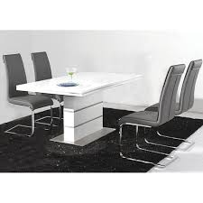 White Dining Room Chairs Awesome White Dining Room Set For Inspirations Degreet