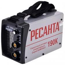 Дуговой <b>сварочный инвертор Ресанта</b> САИ-190К 65/36 – в Леруа ...