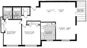 bedroom cottage floor plans   Estate  buildings information portalFloor Plan C  Bedroom  two bath  Camelot Apartments