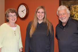 targeting workforce issues through partnerships schools hutchinson high school senior maddie hoel center has been job shadowing swif staff
