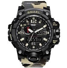 <b>SMAEL men's</b> sports <b>watch</b> outdoor waterpr- Buy Online in Dominica ...
