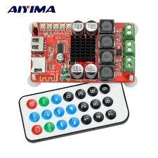 Aiyima <b>TPA3116</b> Bluetooth Receiver <b>Amplifier Audio Board</b> Digital U ...
