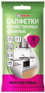 <b>Салфетки влажные Максан</b>, многоцелевые, 30 шт — купить в ...