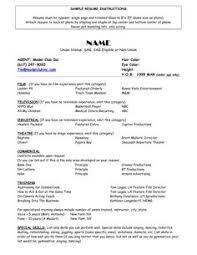 theater resume theater resume examples musical theatre resume      cion   digimerge net  Perfect Resume Example Resume And Cover Letter