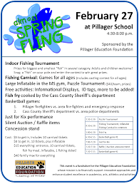 middle school pillager school district  spring fling
