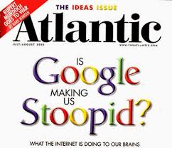 social media bomb april  nicholas carrs essay quotis google making us stupidquot claims that internet affects our way of thinking and making us lazier carr noted that the internet