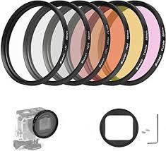 D&F 58MM Lens Filter Accessory Kit UV CPL ND4 ... - Amazon.com