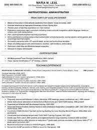 elementary teacher objective for internship resume