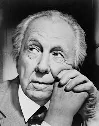 'Architect Frank Lloyd Wright, head-and-shoulders portrait, facing left' Architect Frank Lloyd Wright - aa_wright_subj_e