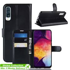 <b>CHUMDIY PU Leather</b> Full Body Wallet Case for Samsung Galaxy A50