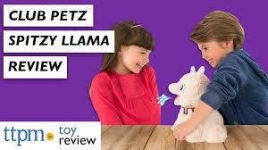 Funny Llama Stuffed Toy Review | <b>Club Petz</b> Spitzy from <b>IMC Toys</b> ...