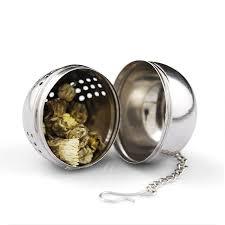 <b>1Pcs Stainless Steel Tea</b> Infuser Strainer Tea Filter Tea Spoon ...