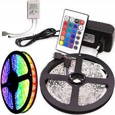 <b>Светодиодная лента</b> LED SMD 3528 5m RGB Цветная в катушке ...