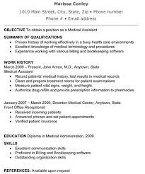 medical assistant resume with no experience jobresume gdn medical assistant resume samples