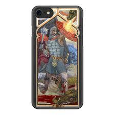 """Чехол для iPhone 7, объёмная печать """"<b>Русский Витязь</b> ..."""