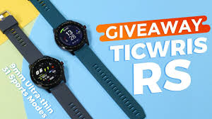 (CLOSED)GIVEAWAY! How About <b>TICWRIS RS</b> Smartwatch with 31 ...