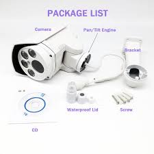 OwlCat Hi3518E+sony323 Full <b>HD 1080P</b> PTZ Security IP camera ...