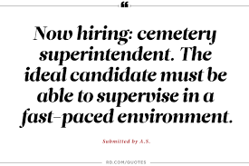 the dumbest help wanted ads ever reader s digest must not mind having people under you