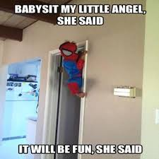 Funny Quotes About Babysitting. QuotesGram via Relatably.com