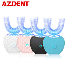 <b>New 360</b> Degrees Intelligent Automatic Sonic Electric Toothbrush ...