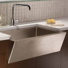 hammered copper kitchen sink: undermount copper kitchen sink hammered