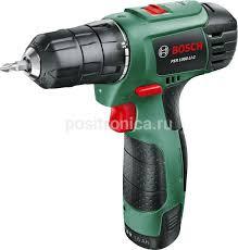Купить <b>Дрель</b>-<b>шуруповерт Bosch PSR</b> 1080 LI-2 (06039A2101) в ...