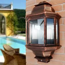 Lanterna Da Parete : Venus mezza lanterna a parete illuminazione tradizionale esterno